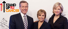 Katie Couric, Diane Sawyer and Brian Williams To Host Stand Up To Cancer Special Sept. 10th