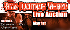 Texas Frightmare Horror Auction May 1st!