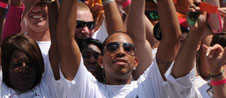 Ludacris Helps Build A Playground